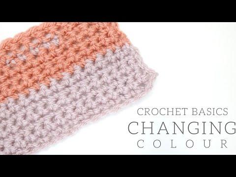 CROCHET BASICS: Changing colour | Bella Coco