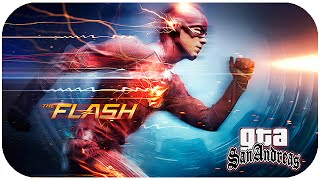 getlinkyoutube.com-GTA San Andreas Mod - The Flash MOD! 🎮