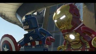 LEGO Marvel Super Heroes 100% Walkthrough Part 5 - Rebooted, Resuited (Mandarin & Aldrich Killain)