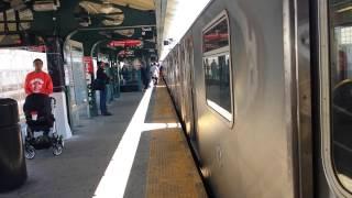 getlinkyoutube.com-IRT Subway Line: Manhattan, Wakefield & Dyre Ave Bound R142 (2) (5) Trains @ East 180 Street