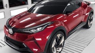 getlinkyoutube.com-Scion C-HR Concept : Built a Top the Toyota New Global Architecture