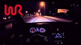 getlinkyoutube.com-2016 Volkswagen GTI SE (6MT) - WR TV POV Night Drive