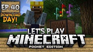 getlinkyoutube.com-Survival Let's Play Ep. 40 (DD) - 0.13.0 Note Block Doorbell!!! - Minecraft PE (Pocket Edition)