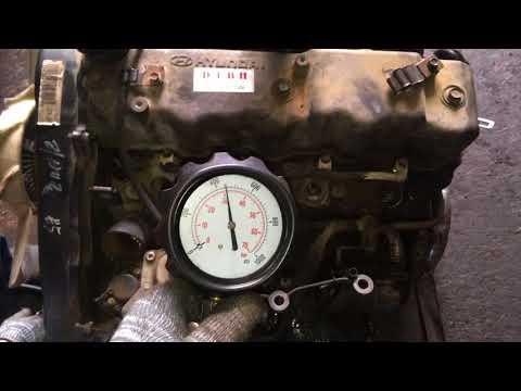 Двигатель D4BH-1082677 2.5 TCi 99 л.с. – проверка компрессии