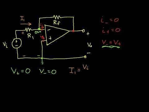Op Amp Circuit Analysis: Inverting Amplifier