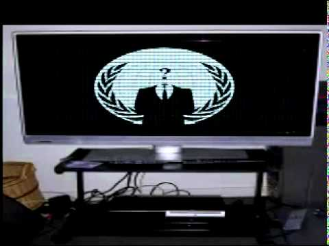 Anonymous - Message To Sony -MamFVEATl28