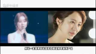 getlinkyoutube.com-윤은혜 Yoon Eun Hye in China for 2014 Amway Artistry products + New CF making 13/12/31