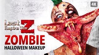 Last Empire War Z - Zombie Halloween Makeup Tutorial