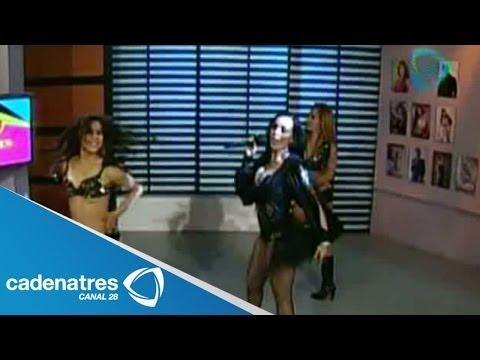 Show en vivo de Ivonne Montero en los foros de No lo cuentes / Live show of Ivonne Montero