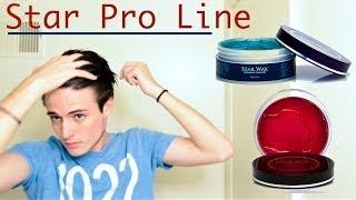 getlinkyoutube.com-Star Wax Premium Pomade: Star Pro Original & Crystal Hair Product Review