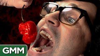 getlinkyoutube.com-World's Hottest Pepper Challenge - Carolina Reaper