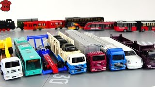 getlinkyoutube.com-Takara Tomy Long Tomica Diecast Cars Collection Unboxing★롱토미카★トミカ