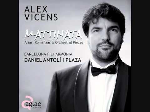 ALEX VICENS   MATTINATA