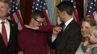 getlinkyoutube.com-Paul Ryan stops kid from dabbing