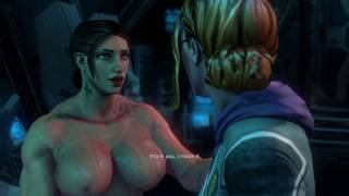 getlinkyoutube.com-Saints Row IV: Female Badass - Cutscenes
