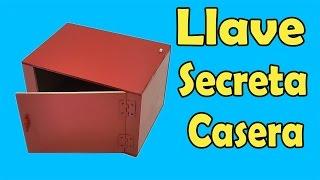 getlinkyoutube.com-Cómo Hacer Caja Con llave Secreta (muy fácil de hacer)
