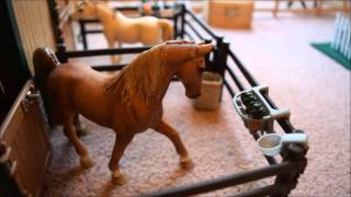 getlinkyoutube.com-Schleich Barn Tour Silver Star Stables April 2016
