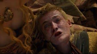 getlinkyoutube.com-Joffrey Baratheon's Death Scene | Game of Thrones - King Joffrey Dies at the Purple Wedding.