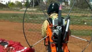 getlinkyoutube.com-40cc 11kg Paramotor by Angel Fly®