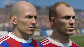 getlinkyoutube.com-FIFA 15 vs PES 2015 Head to Head Faces - Bayern Munich