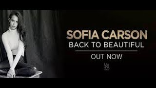 BACK TO BEAUTIFUL - SOFIA CARSON FEAT ALAN WALKER  karaoke version ( no vocal ) lyric instrumental