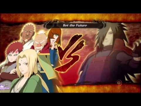 Naruto Shippuuden Unreleased Soundtrack - Madara versus the Five Kage