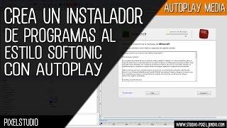 getlinkyoutube.com-Aprende a crear un instalador de programas estilo softonic con Autoplay Media Studio