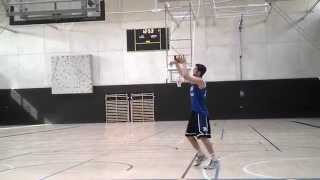 Pyramid Shooting Drill