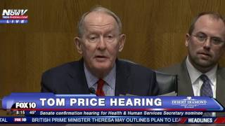 PART 1: Tom Price Confirmation Hearing, Trump's Secretary of Health and Human Services Nominee - FNN