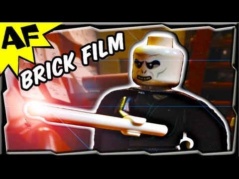 Lego Voldemort goes Wand Shopping - Harry Potter Brick Film