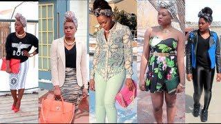 getlinkyoutube.com-Lookbook| Spring Outfit Ideas Ft Mediumtoplusdiva + Bonus