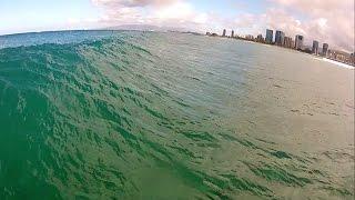 getlinkyoutube.com-Surfing Waikiki - GoPro Head Cam Part 1