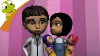 getlinkyoutube.com-Miss Polly had a Dolly 3D Nursery Rhyme
