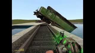 getlinkyoutube.com-GMOD train crashes and accidents