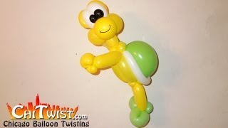 getlinkyoutube.com-Koopa Turtle Balloon Animal | ChiTwist Chicago Balloon Twisting