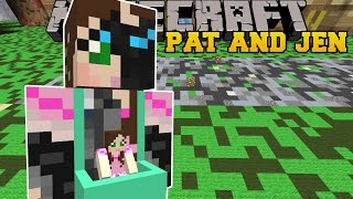 getlinkyoutube.com-Minecraft: PAT AND JEN VEHICLE (CAR AND UFO TRICKS!) Mod Showcase