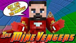 getlinkyoutube.com-Minecraft MineVengers - THE DROPPER 2 - IRON MANS GO!!