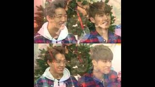 getlinkyoutube.com-iKON B.I, Bobby & 2NE1 Sandara at Happy Together 3
