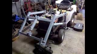 Craftsman Tractor Loader Update April 2012