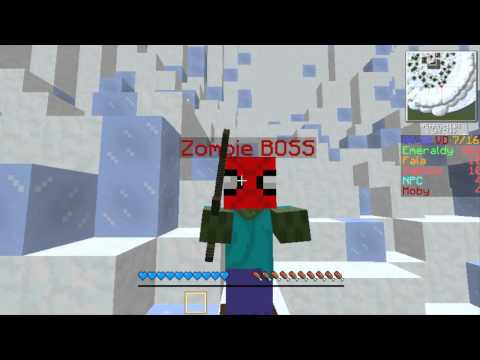 Minecraft Mini-Games #1 - Spajdermen !!!