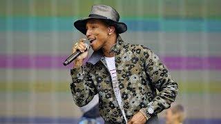 getlinkyoutube.com-Pharrell Williams - Happy (BBC Radio 1's Big Weekend 2014)