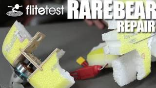 getlinkyoutube.com-Flite Test - Rare Bear Repair - FLITE TIP