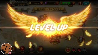 getlinkyoutube.com-Kritika: White Knight | Live Stream | Eclair level 67 - 70 | +64 Gold chests Openings |