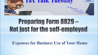 getlinkyoutube.com-Preparing Form 8829 - Expenses for Business Use of Your Home