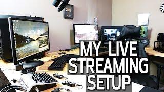 getlinkyoutube.com-Live Stream Setup Tour - Cameras, Audio & Hardware