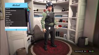 getlinkyoutube.com-GTA 5: Outfit Clothing, Police, Spec Ops, Scuba Diving, Janitor, Tuxedo and MORE!!