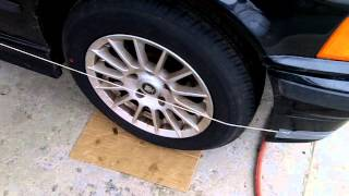 getlinkyoutube.com-How to align your car with string, DIY