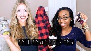 Fall Favourites Tag w/ Shawna Paterson!
