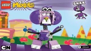 getlinkyoutube.com-LEGO  MIXELS  SERIES  6  MUNCHOS  SNAX  41551  -  Лего  Миксели  6 серия  МАНЧОС   СНЭКС