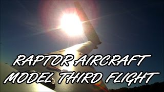 getlinkyoutube.com-Raptor Aircraft Model Third Flight